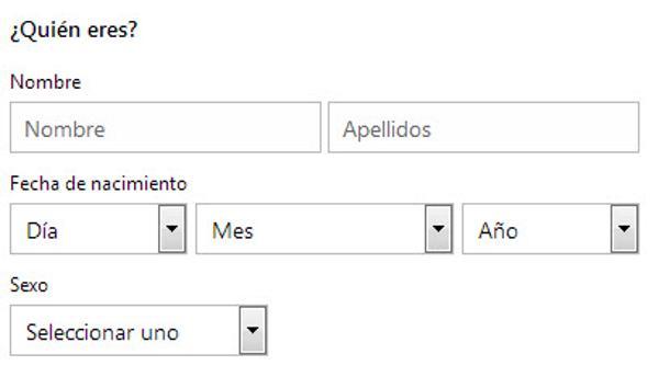 crear correo hotmail 2 Outlook iniciar sesión por primera vez