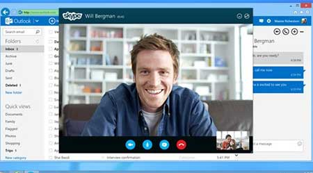 skype-Outlook-correo
